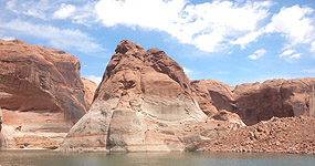 Boating at Lake Powell