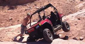 Moab RZR and Running